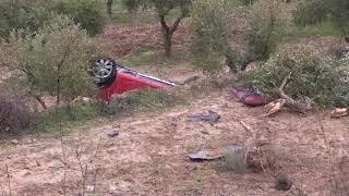 Accident greu a la carretera de Vilalba a Gandesa