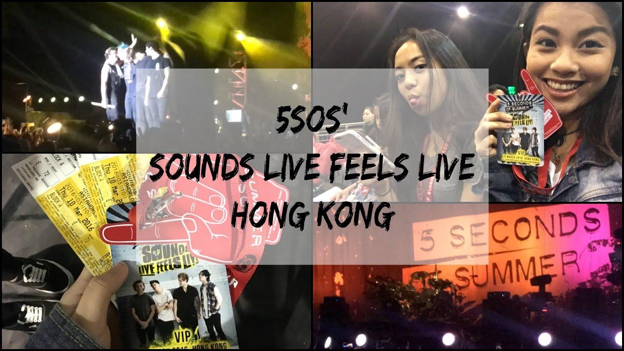 5sos Sounds Live Feels Live Hong Kong 10032016 Angee Padilla