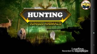 android game   hunting jungle animals