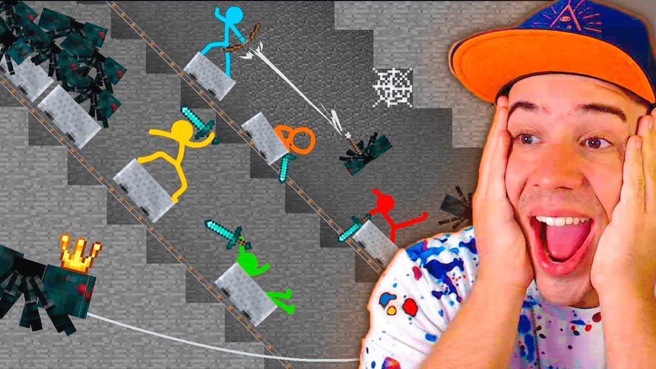 REAGINDO A MELHOR ANIMAÇÃO DE MINECRAFT ! #2 (MINECRAFT ANIMATION)