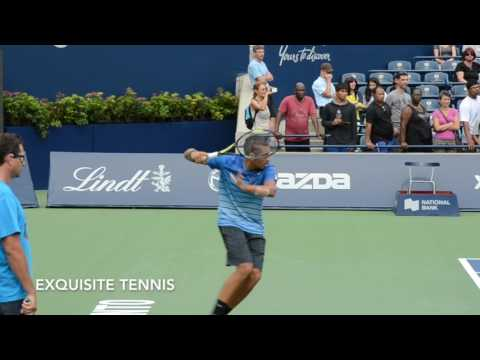 Nick Kyrgios Forehands in Slow Motion
