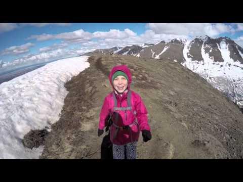 Hiking in the Chugach Mountains, Alaska 4 17 16