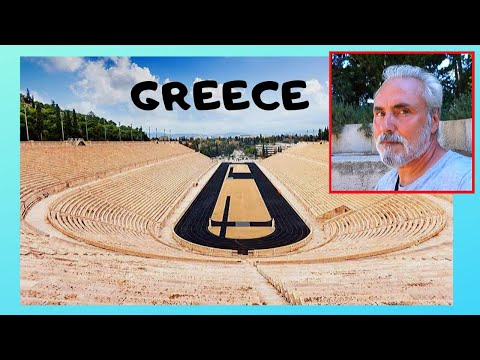 GREECE, the first Olympic Stadium for the modern OLYMPIC GAMES (1896, ATHENS)