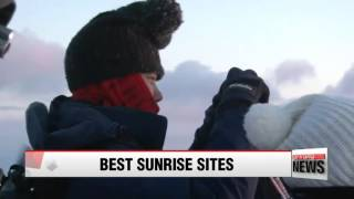 Ten best places to enjoy sunset and sunrise