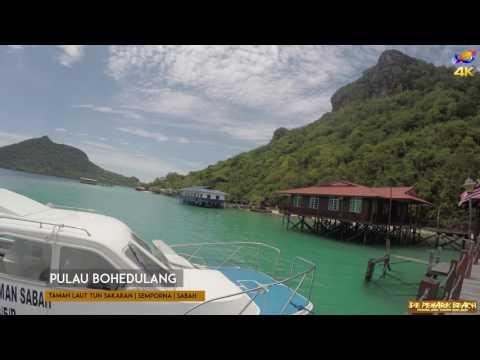 Pulau Bohedulang , Sabah , Borneo