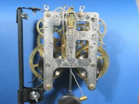 Gilbert Mantel Clock Movement