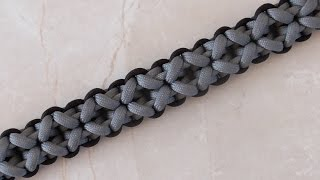 How To Tie A Clove And Dagger Paracord Survival Bracelet Without Buckle