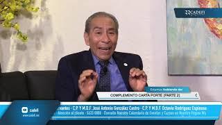 Cadefi   Charla Fiscal Entre Amigos - CFDI Complemento Carta Porte. (Parte 2)   Septiembre