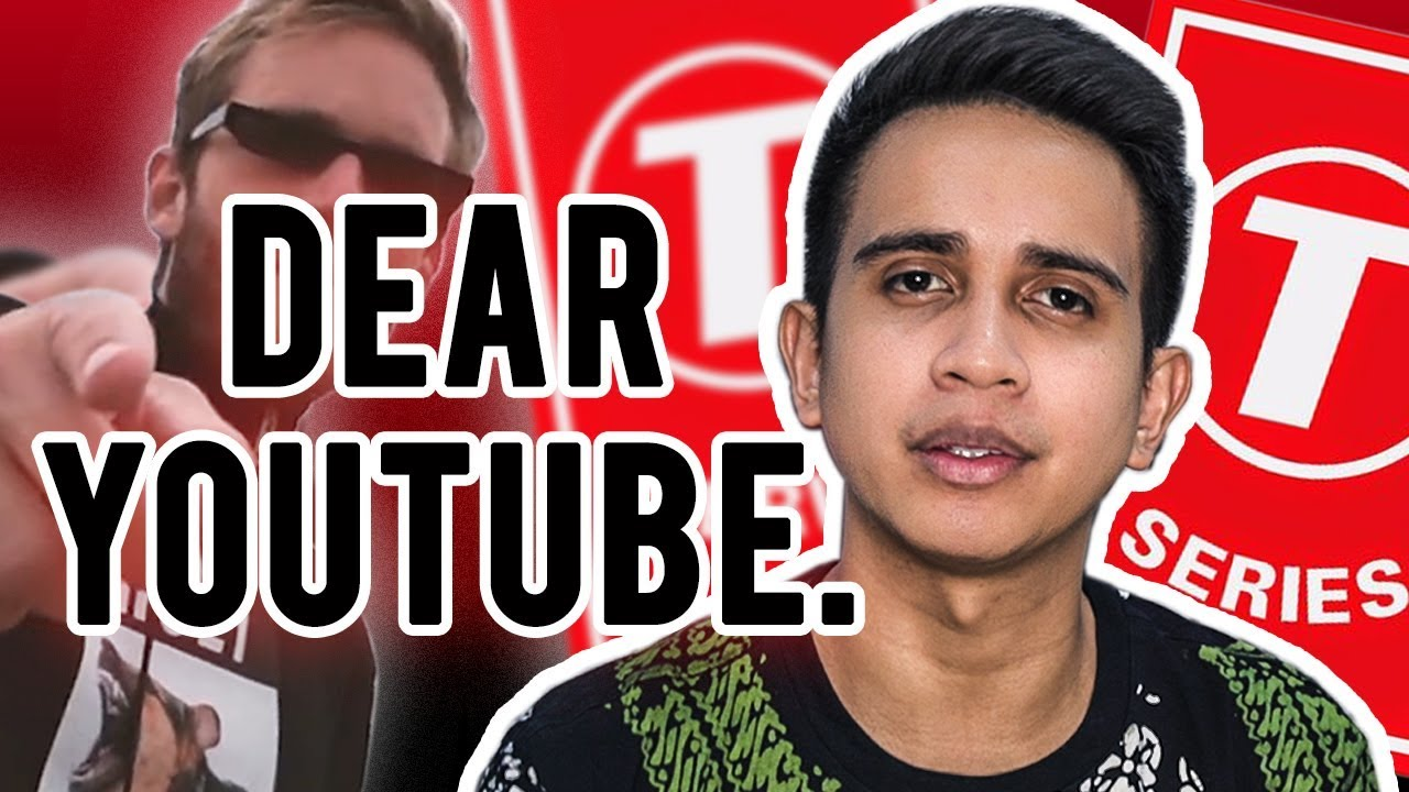 69db64082 Dear YouTube - PewDiePie vs T-Series - YouTube