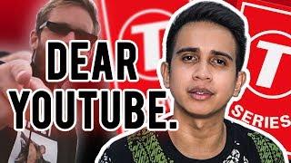 Dear YouTube - PewDiePie vs T-Series
