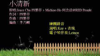 Joyce Chu 四葉草 + Michiyo Ho 何念兹@RED People - 小清新 cover by Kay + 表妹 (練團錄音)