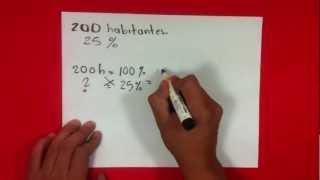 Calcular un porcentaje en matemáticas - Sacar tanto por ciento thumbnail