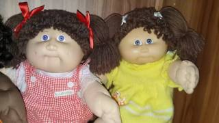 Some of my Coleco Cabbage Patch Kids