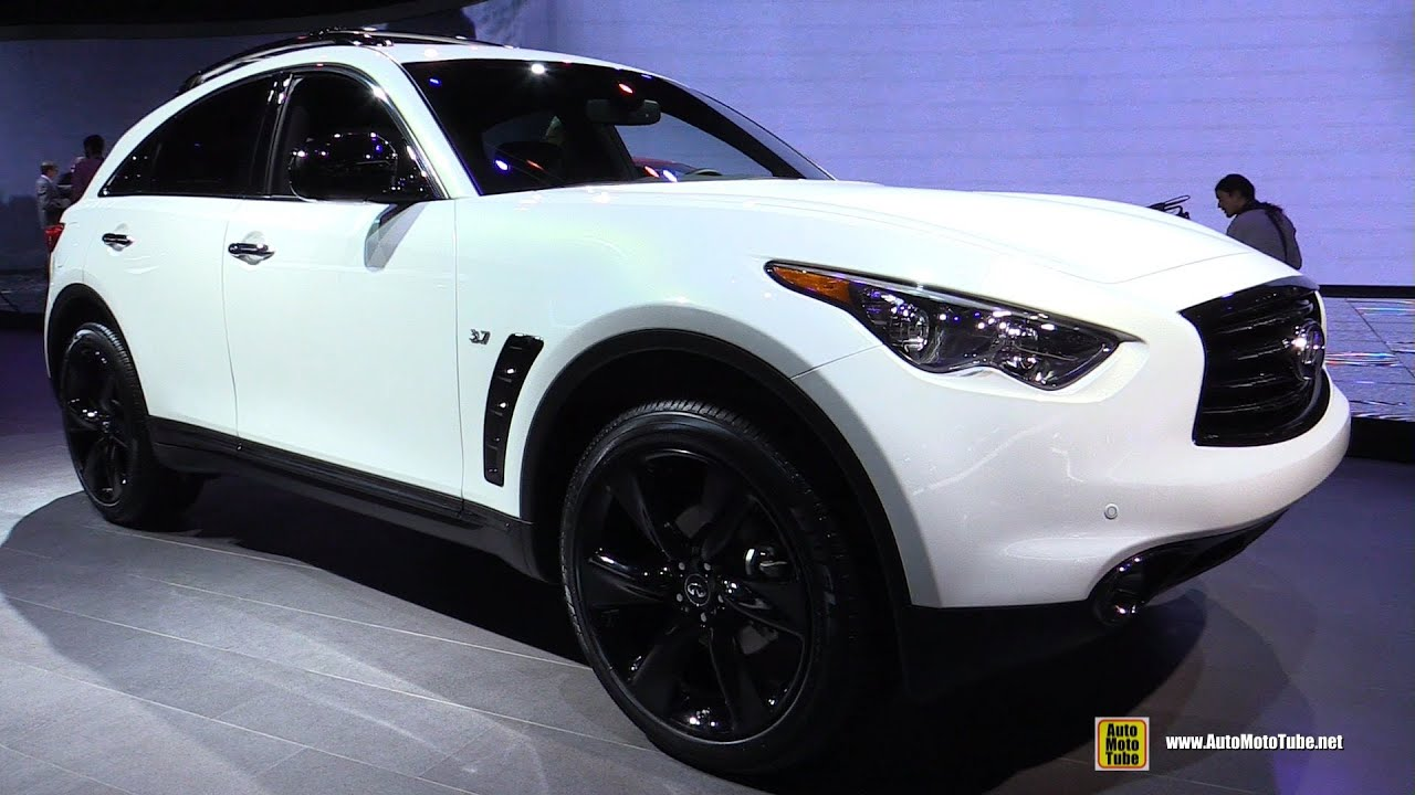 2015 infiniti qx70s exterior and interior walkaround 2015 detroit auto show youtube