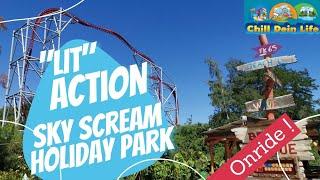 [Onride] Sky Scream Rollercoaster | Hier musst Du starke Nerven haben! 😱😱😱  | 2020