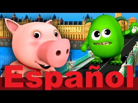 El Puente de Londres se va a caer   Canciones infantiles   LittleBabyBum