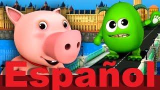 El Puente de Londres se va a caer | LittleBabyBum canciones infantiles HD 3D