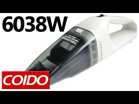 Coido 6038W — автопылесос с функцией влажной уборки — видео обзор 130.com.ua
