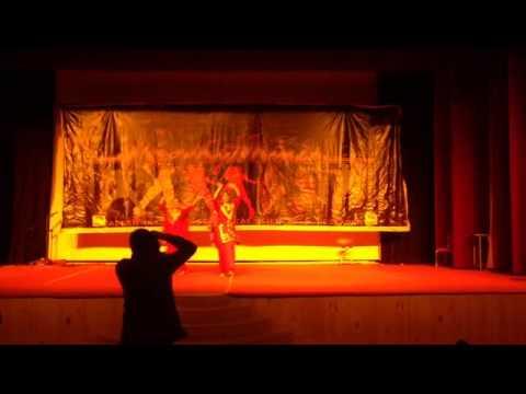 Ankush & group dance performnce at arrhythmia 2015