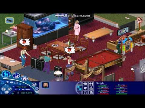 The Sims 1- Karaoke Fail Redux