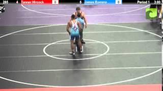 285 Tanner Hircock vs. James Romero