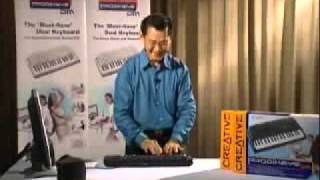 Hysterical This Guy Rocks Playing Keyboard drums - .mp4