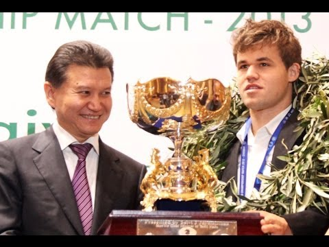 FIDE World Championship 2013 - Closing & Prize Distribution Ceremony