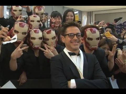 Iron Man 3 International Publicity Tour 2013 (HD) | Robert Downey Jr. - Marvel India Official