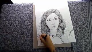 SPEED DRAWING - THE GABBIE SHOW