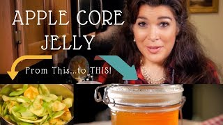 Simple Apple Core Jelly - Waste Not, Want Not! - with PREPSTEADERS