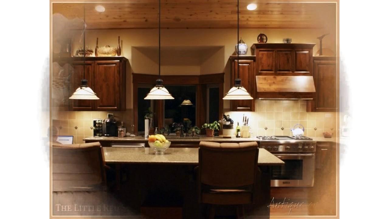 Dekorieren von ideen über küchenschränken - YouTube