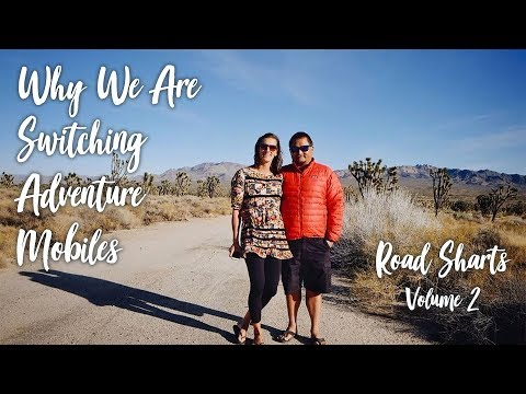 Why We Are Switching Adventure Mobiles :: Road Sharts :: Volume 2