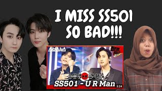Ex-TripleS Reacts to SS501(더블에스501) - 'U R Man' 문명특급…