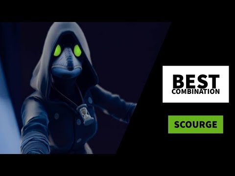 Best Combos | Scourge | Fortnite Skin Review
