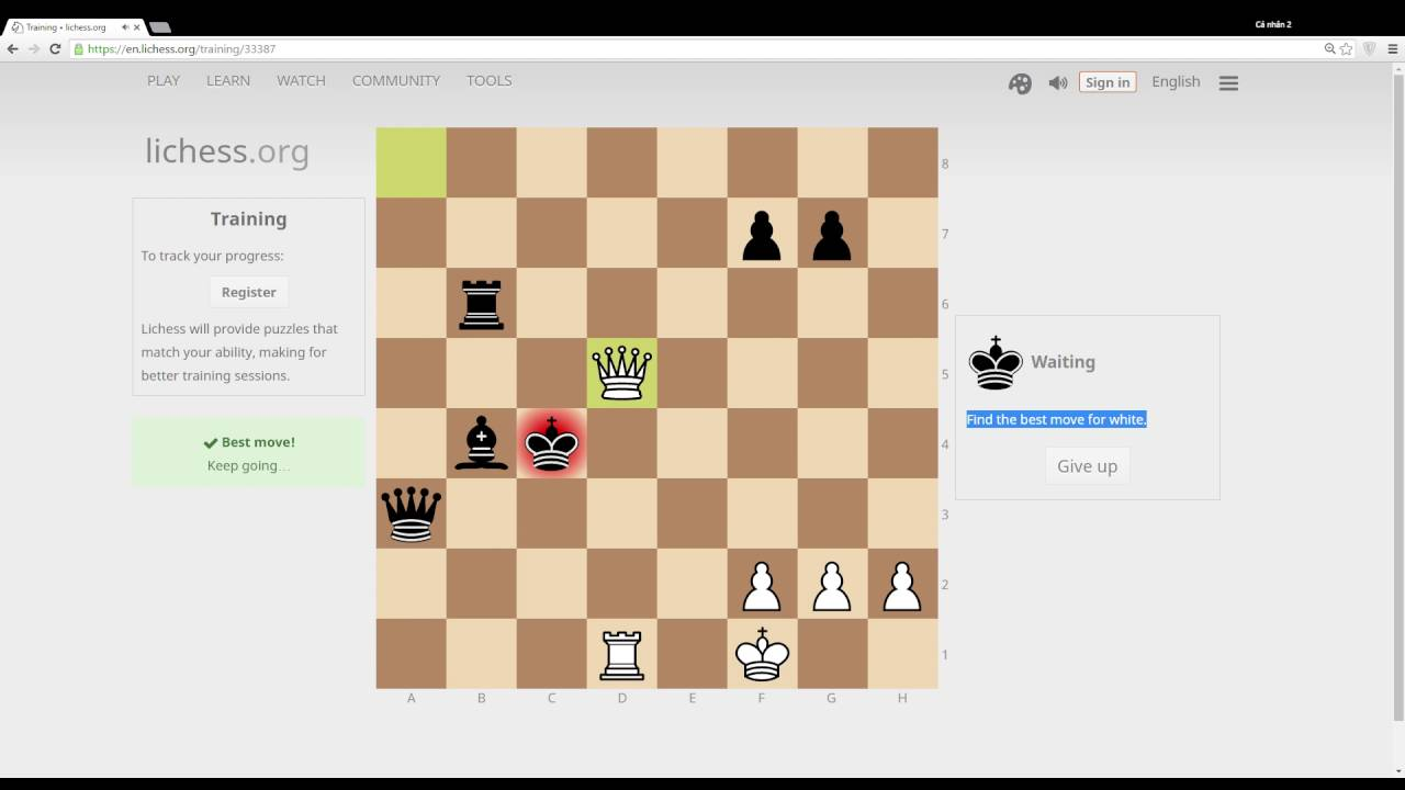 how to learn chess game