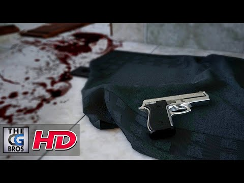 "A CGI Short Film: ""Oscar Pistorius Crime Scene Reconstruction""  - by Amber Smith"