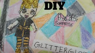 DIY lol surprise glitter globe winter disco series 6subscribelikeShare