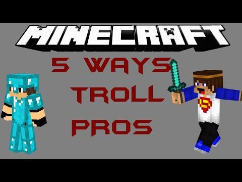 Minecraft short - 5 Ways to troll a Hacker/Pro in Annihilation