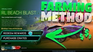 Fastest Way To Farm Event Currency In Rocket League