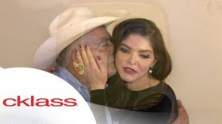 ¡SE REENCONTRARON! Don Antero le dio la sorpresa a su hija Ana Bárbara y la fue a ver. | Ventaneando