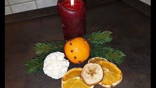 Сушонные  фрукты к Рождеству!!! Как высушить фрукты в духовке!!!