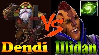 Dota 2 - Dendi vs Illidan Plays Europe Elite League! Game with 6000MMR+