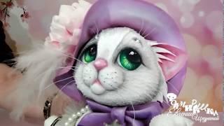 """Анонс. МК «Кошка Ми-Ми"""" - интерьерная кукла из фоамирана"""