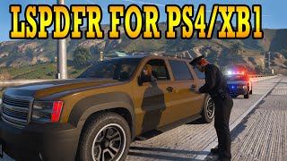 HOW TO INSTALL LSPDFR FOR PS4/XB1