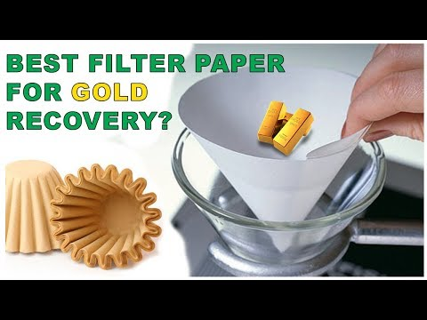 ⭐Best Filter Paper | Fastest Filter Paper For Gold Recovery And Computer Recycling