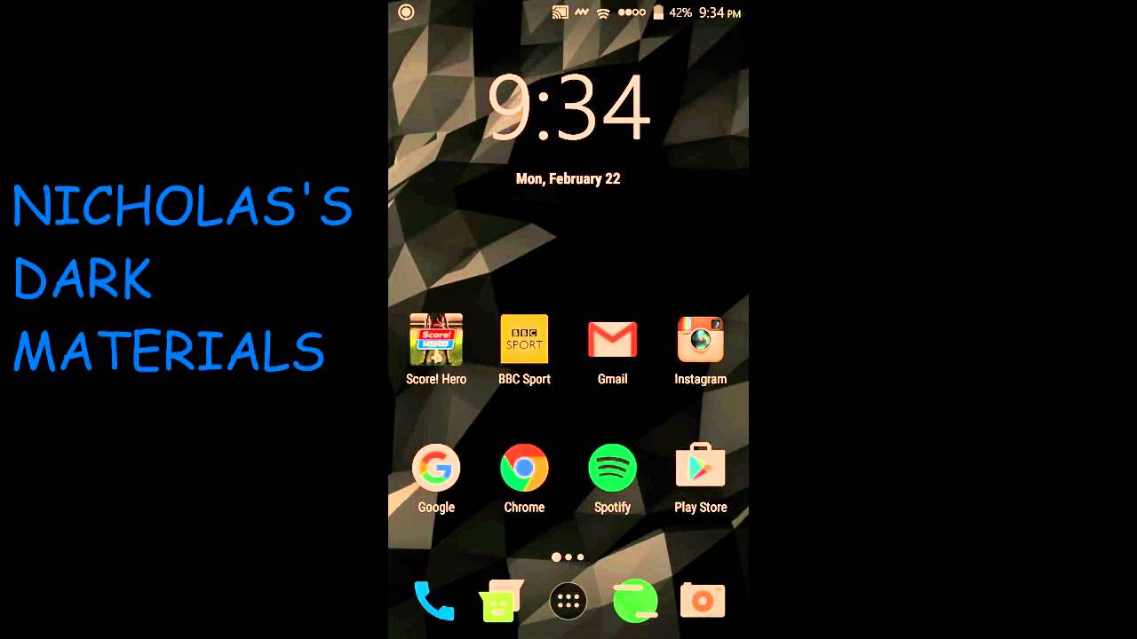 Gmail themes for mobile - Top 5 Cyanogenmod 13 Themes