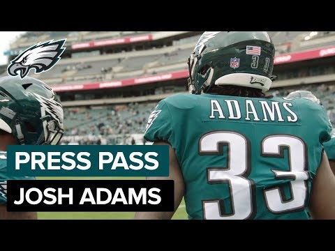 Josh Adams: Lots of Trust Among Young RB Squad | Eagles Press Pass