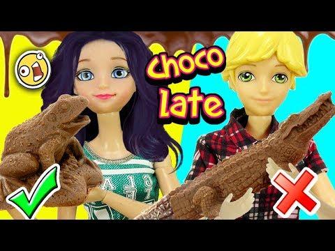 Marinette y Adrien abren chocolates raros de Juguetes