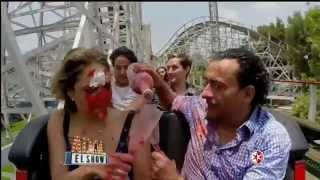 Adal El Show  Adal trata de conquistar a Vanessa Huppenkotten en la montaña rusa