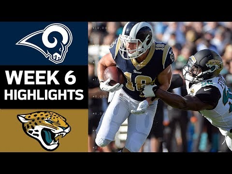 Rams vs. Jaguars | NFL Week 6 Game Highlights